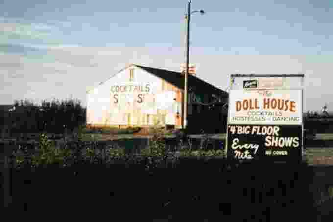 Doll House bar Fairbanks 1950's