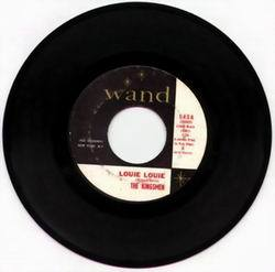 Louie, louie 45 rpm record